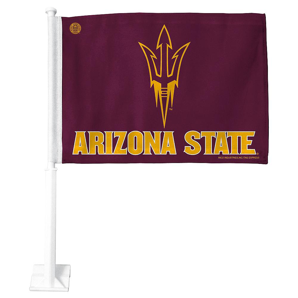 Arizona State Sun Devils Car Flag Image #1