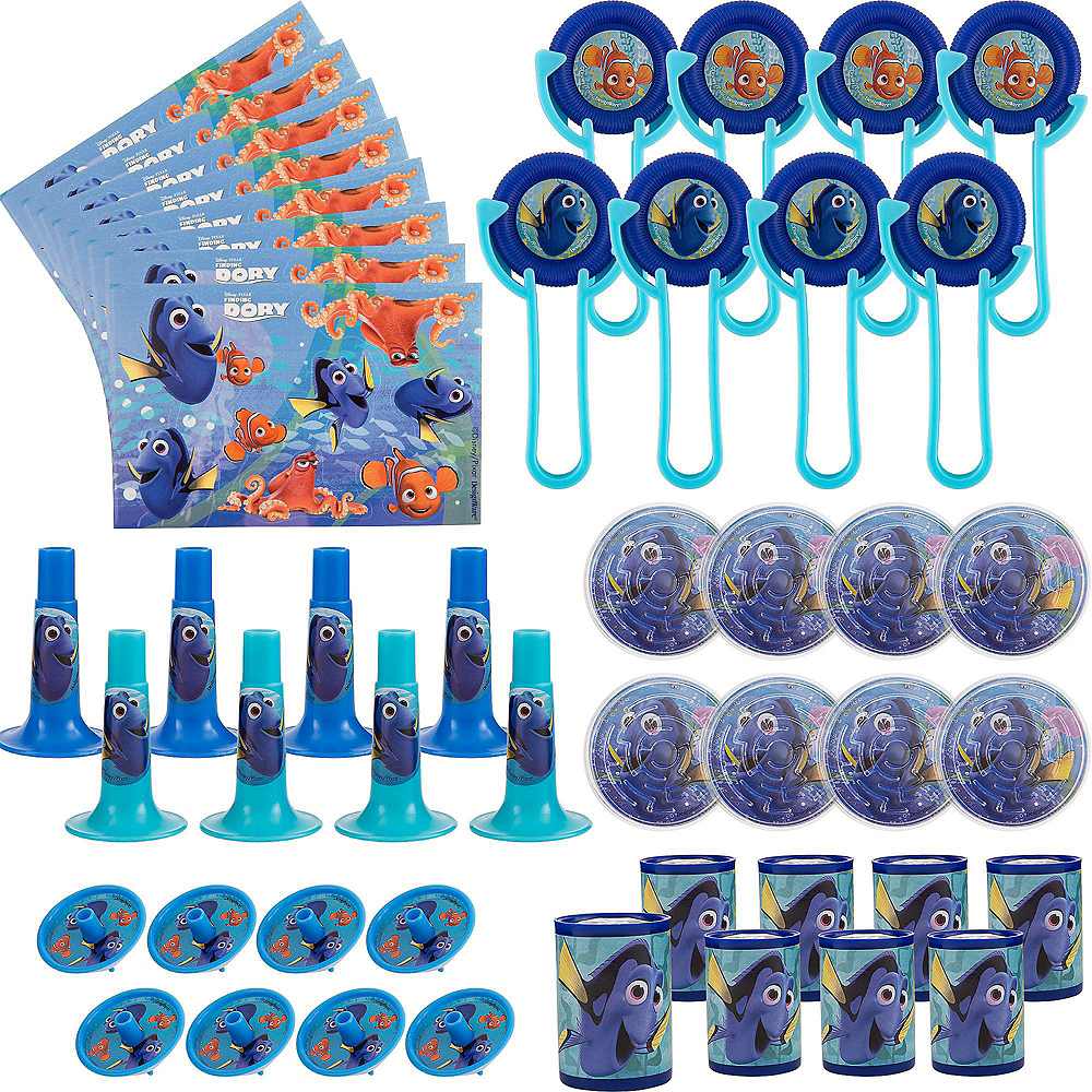 Finding Dory Basic Favor Kit for 8 Guests Image #3