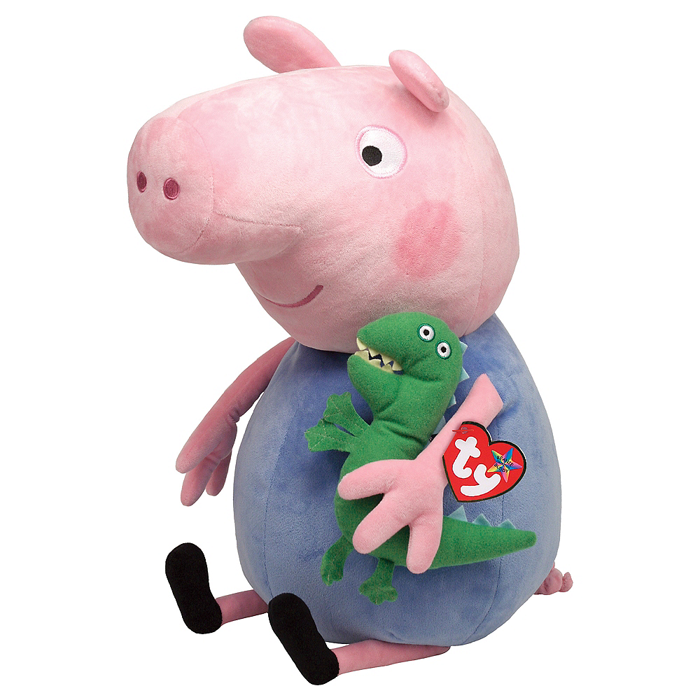 George Pig Plush Peppa Pig 10in X 15in Party City