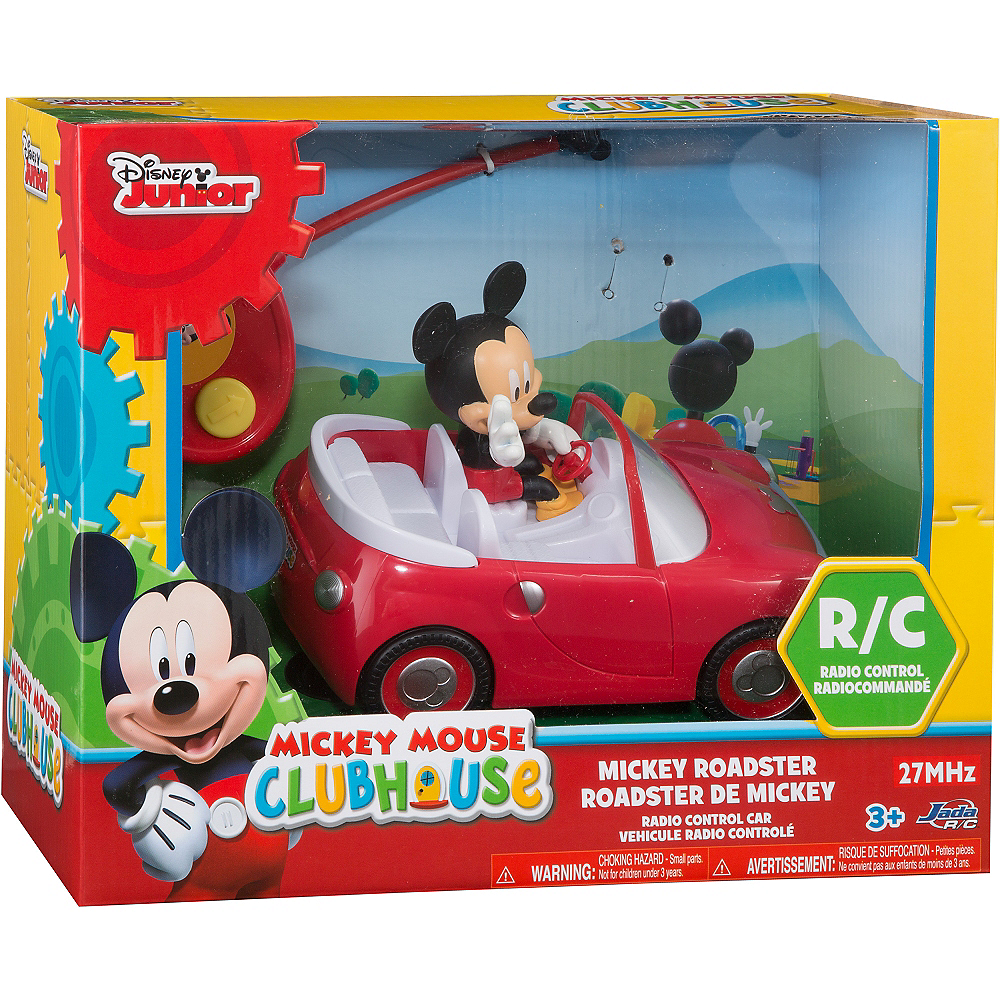 Mickey Mouse Roadster Radio Control Car Image #2
