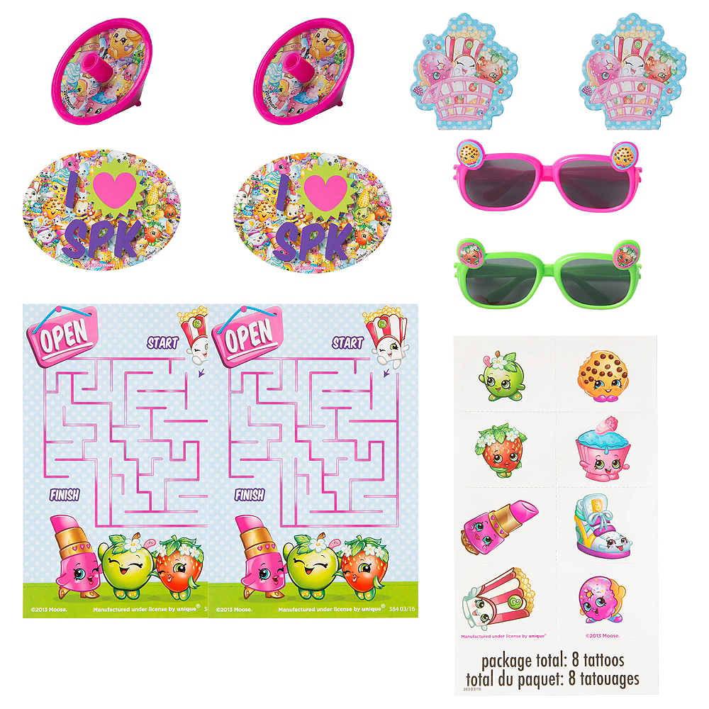 Shopkins Favor Pack 48pc Image #1