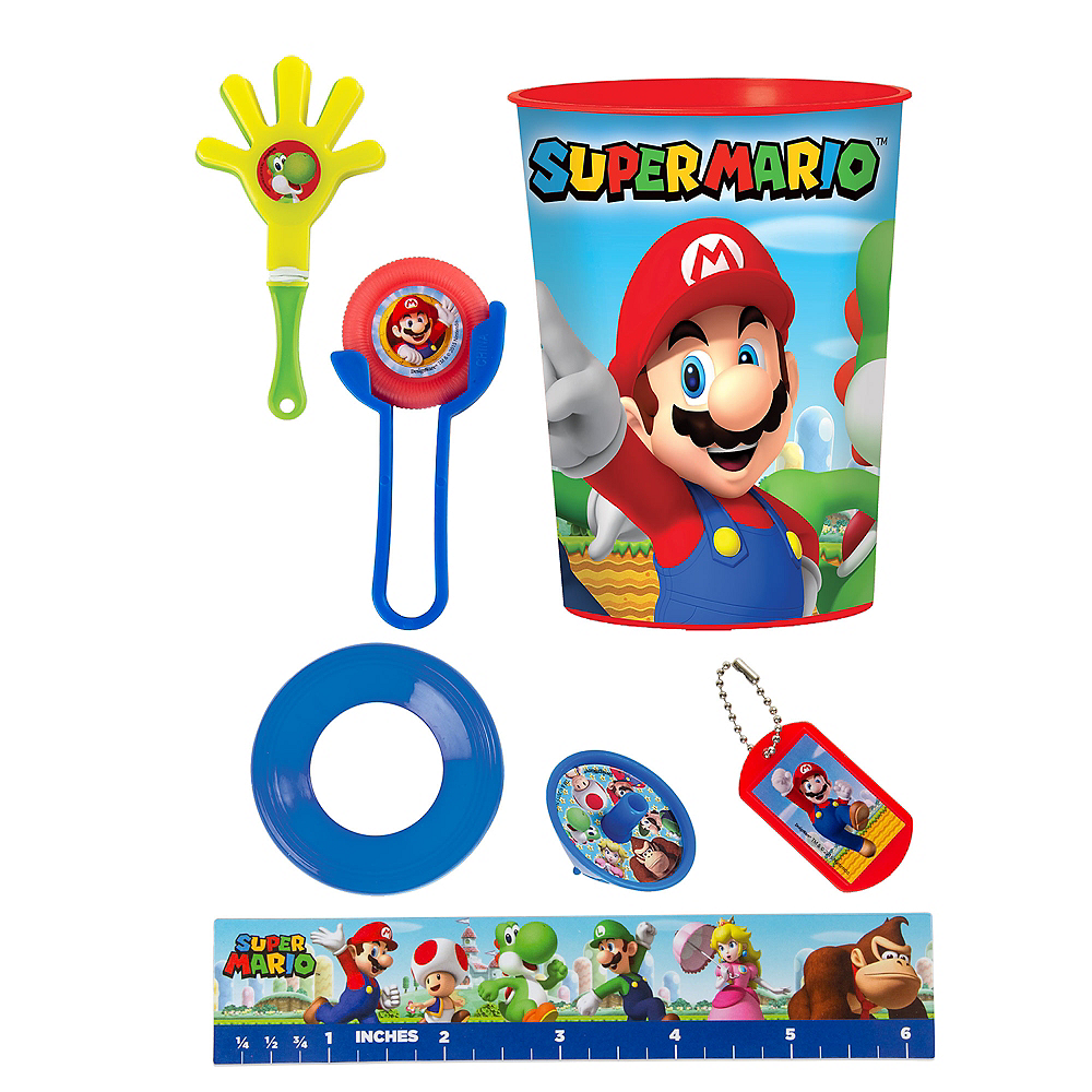 Super Mario Super Favor Kit for 8 Guests Image #1