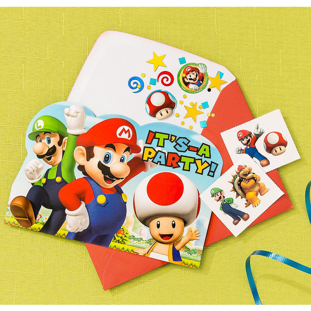 Super Mario Invitation Kit Image #1
