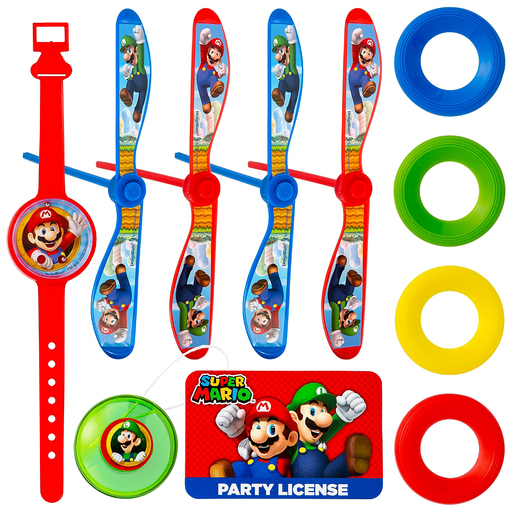 Super Mario Favor Pack 100pc Image #1