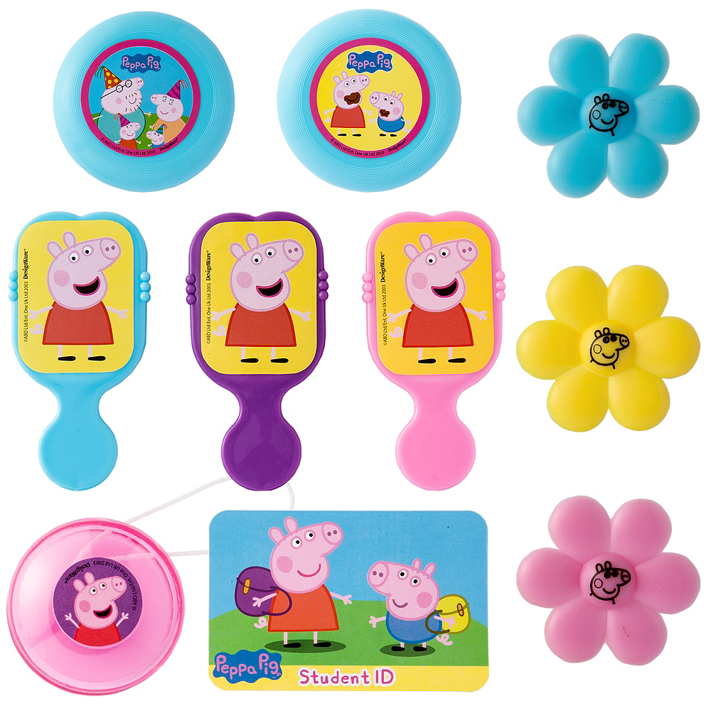 Peppa Pig Favor Pack 100pc Image #1