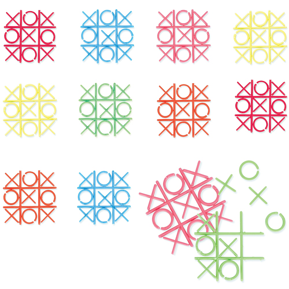 Mini Tic-Tac-Toe Games 18ct Image #1