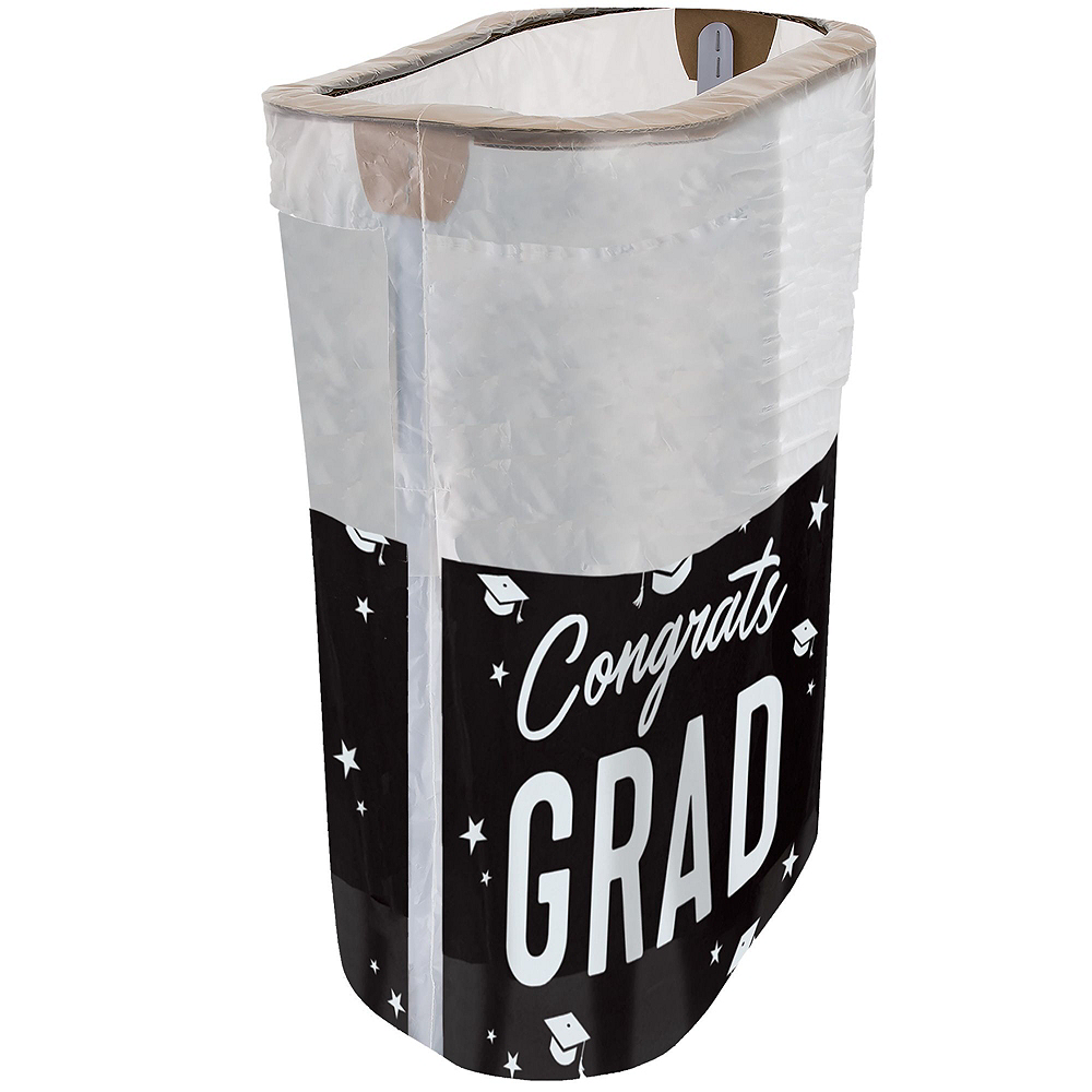 Black, Gold & Silver Graduation Clean-Up Kit Image #2