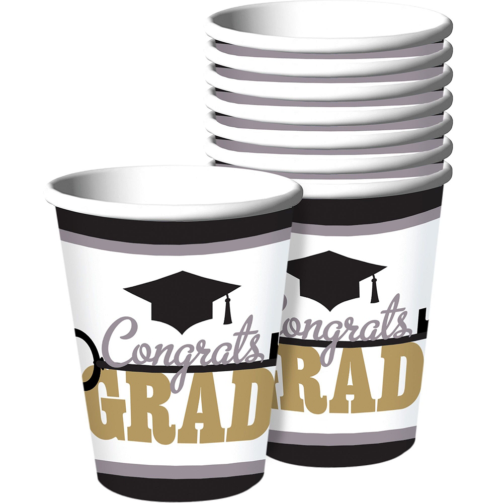 Key to Success Graduation Mega Tableware Kit Image #6