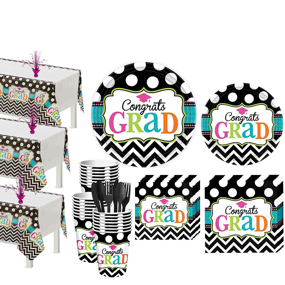 Dream Big Graduation Grand Tableware Kit Image #1
