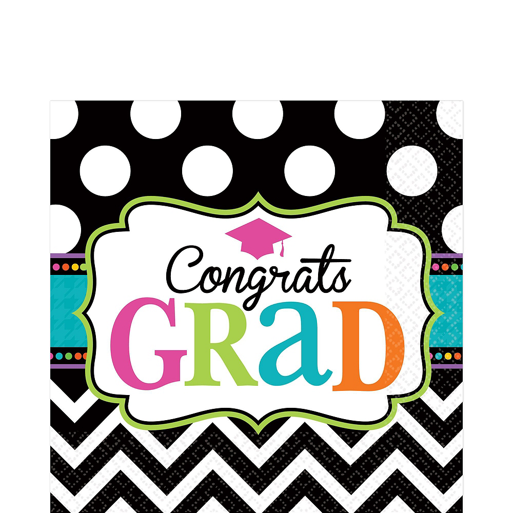 Dream Big Graduation Grand Tableware Kit Image #8