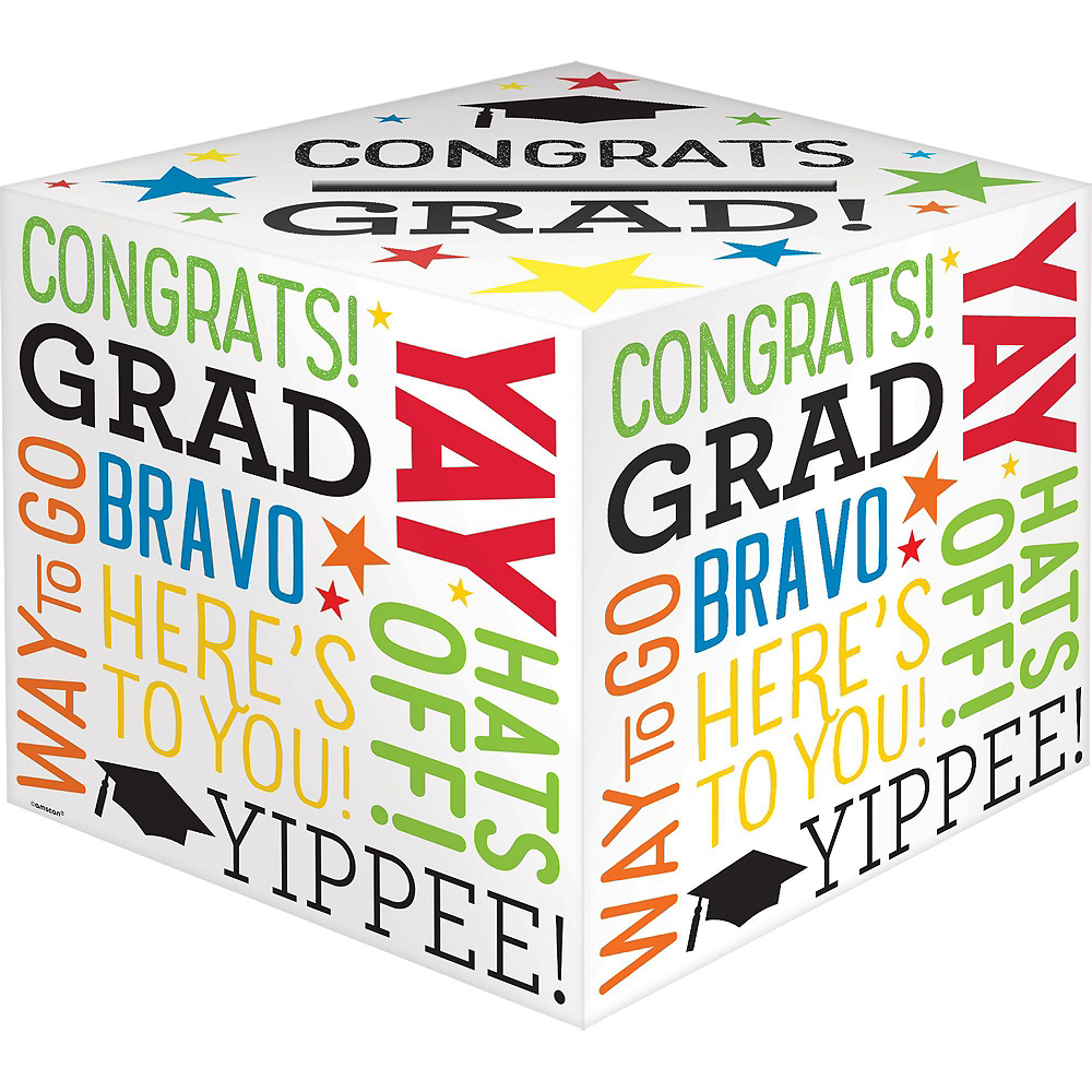 Black, Gold & Silver Graduation Gift Table & Sign In Kit Image #4