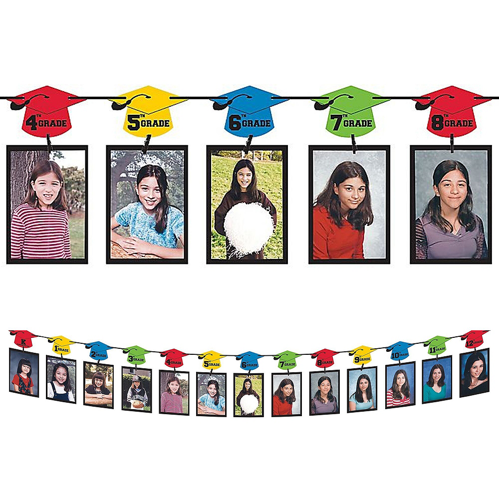 Multicolor Graduation Gift Table & Sign In Kit Image #3