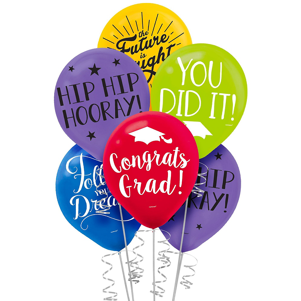 Multicolor Graduation Gift Table & Sign In Kit Image #5