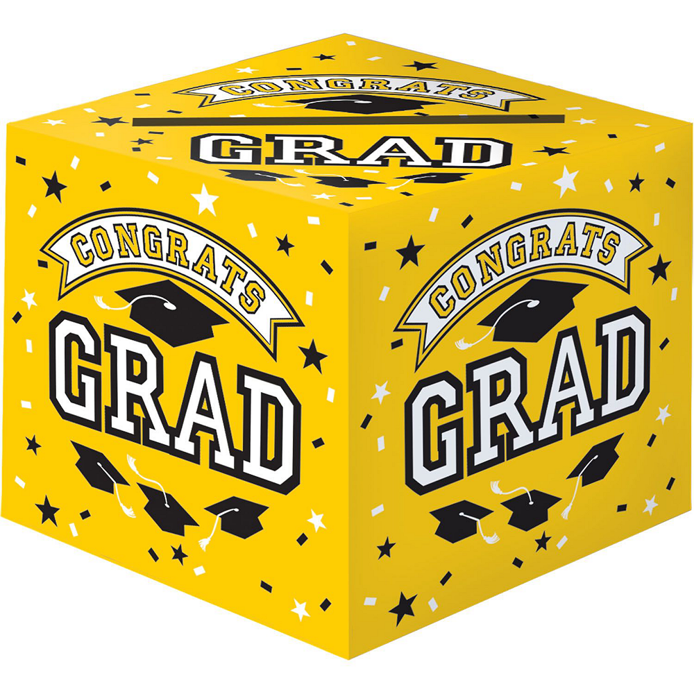 Yellow Graduation Gift Table & Sign In Kit Image #2