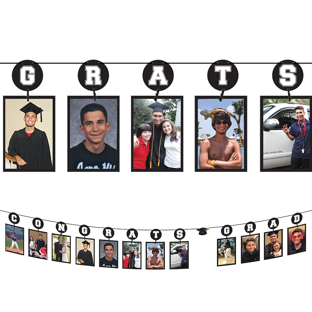 Yellow Graduation Gift Table & Sign In Kit Image #3