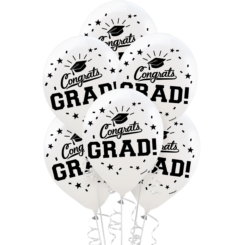 White Graduation Gift Table & Sign In Kit Image #2