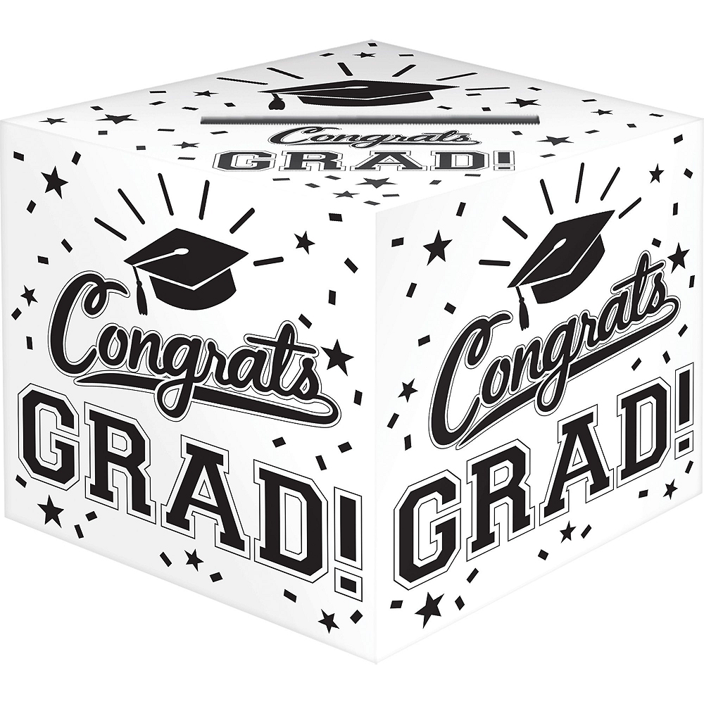 White Graduation Gift Table & Sign In Kit Image #3