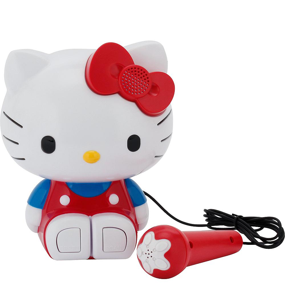 Hello Kitty Sing-a-Long Karaoke Boombox Image #1