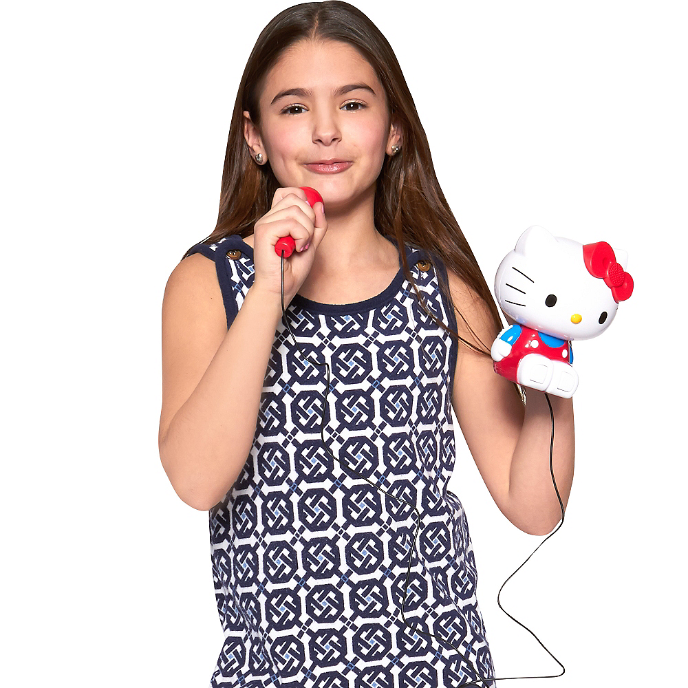 Hello Kitty Sing-a-Long Karaoke Boombox Image #3