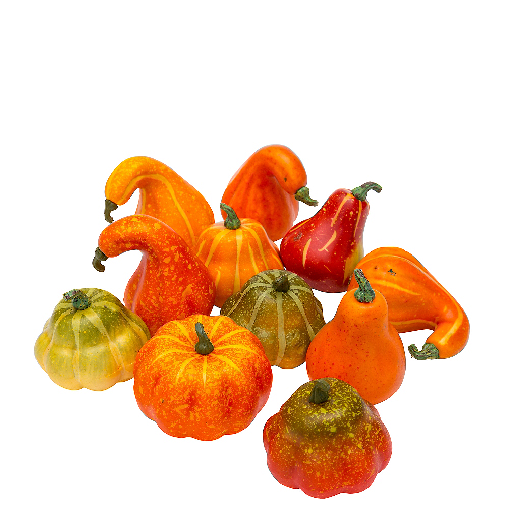 Multicolor Gourds 12ct Image #1
