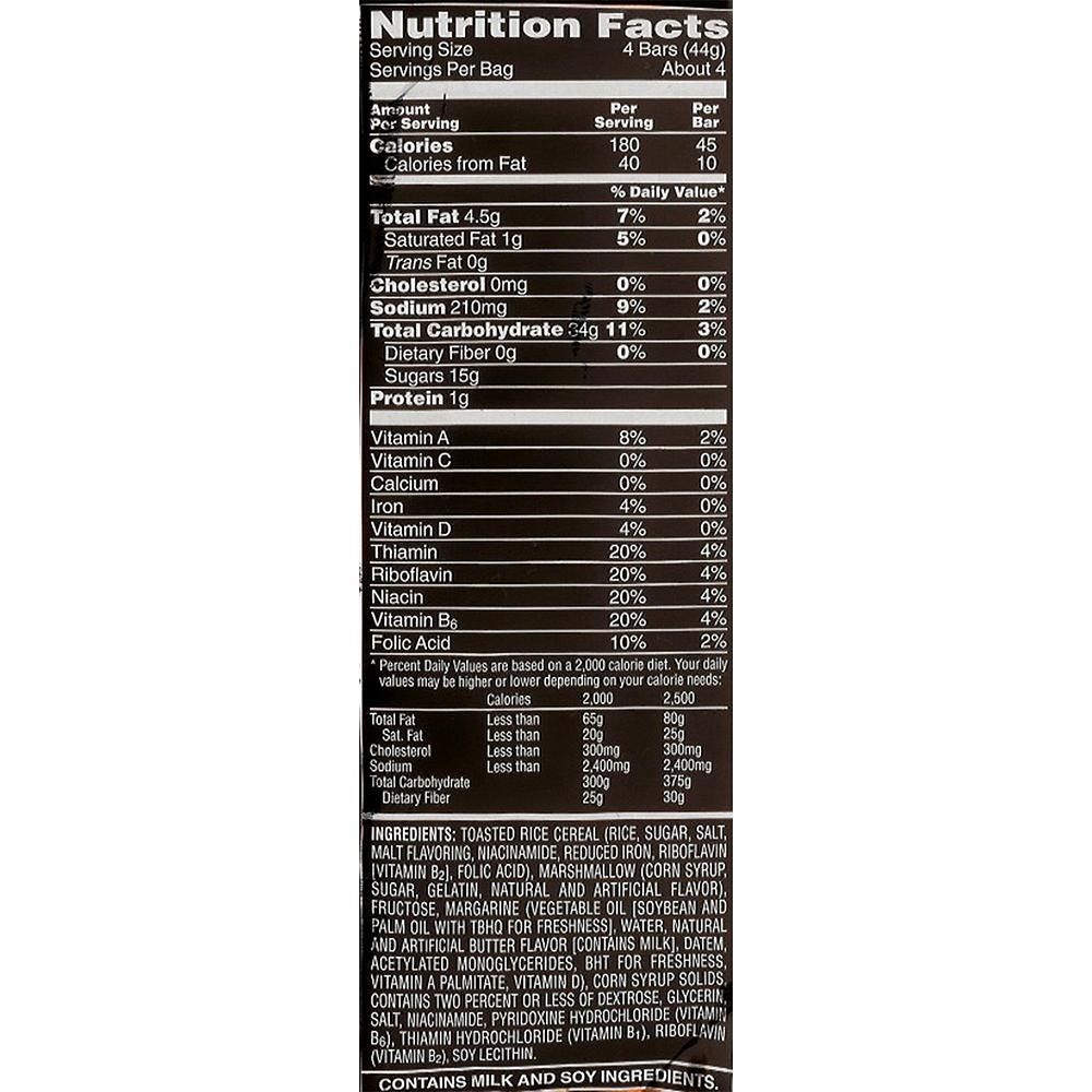 Rice Krispies Treats Mini Squares 20ct Image #2