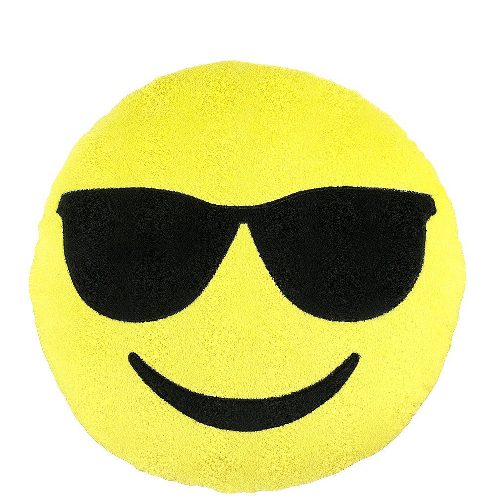 wicked costumes adults cool emoticon emoji smiley face sunglasses funny head mask accessory
