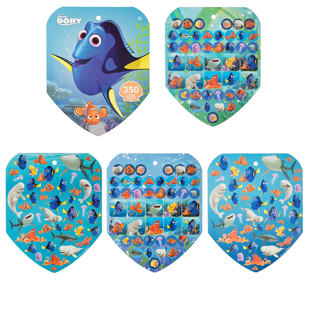 Jumbo Finding Dory Sticker Book 8 Sheets Image #1
