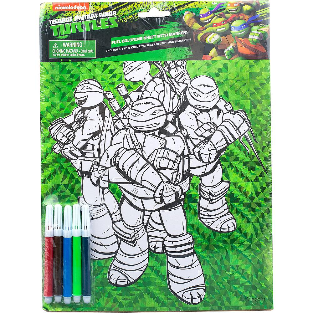 - Prismatic Teenage Mutant Ninja Turtles Coloring Sheet With Markers