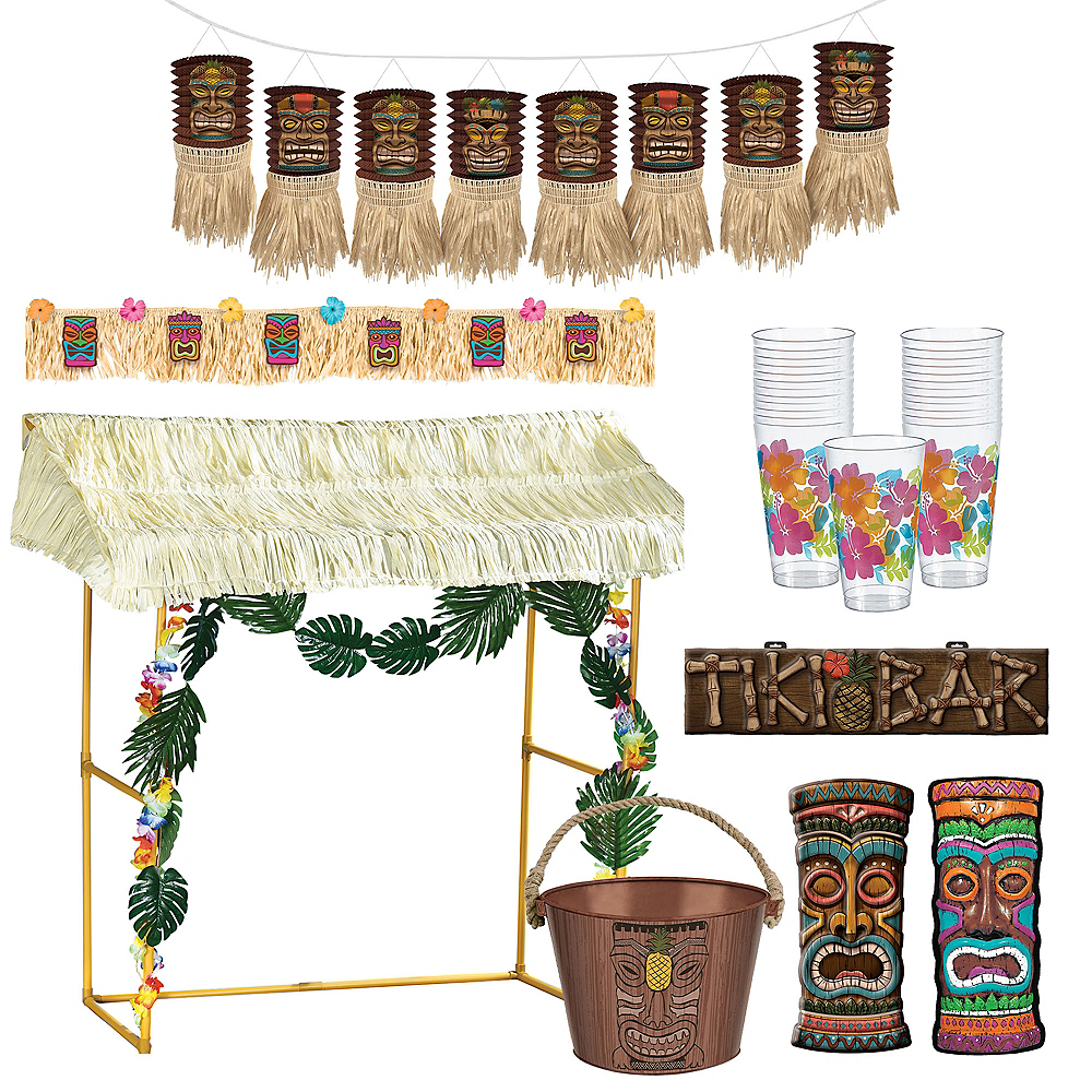 Tiki Bar Decorating Ideas.Tiki Bar Decorating Kit