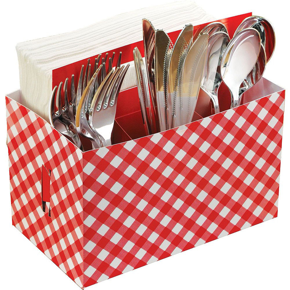Gingham BBQ Party Kit Image #6