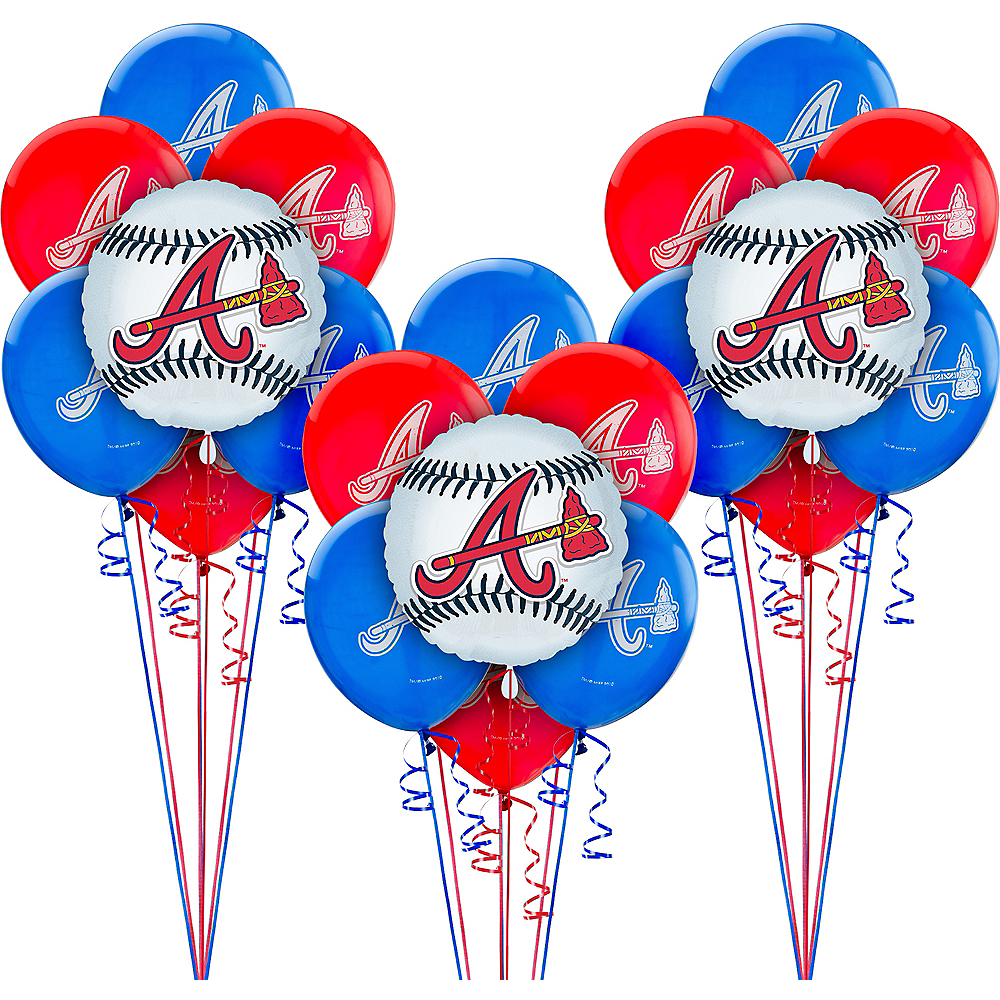 Atlanta Braves Balloon Kit Image #1