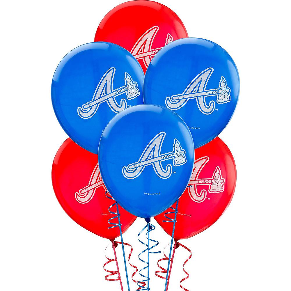 Atlanta Braves Balloon Kit Image #3