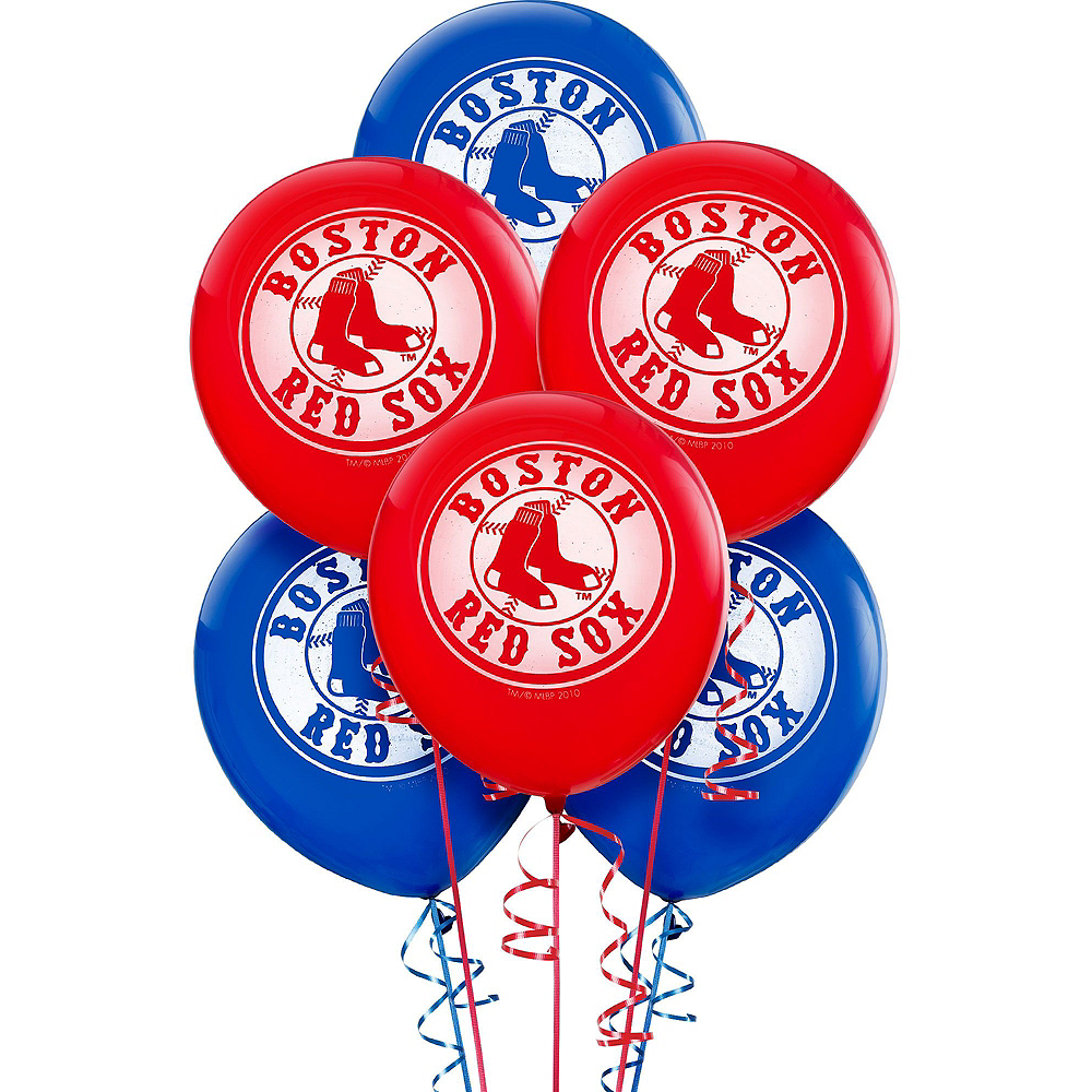 Boston Red Sox Balloon Kit Image #3