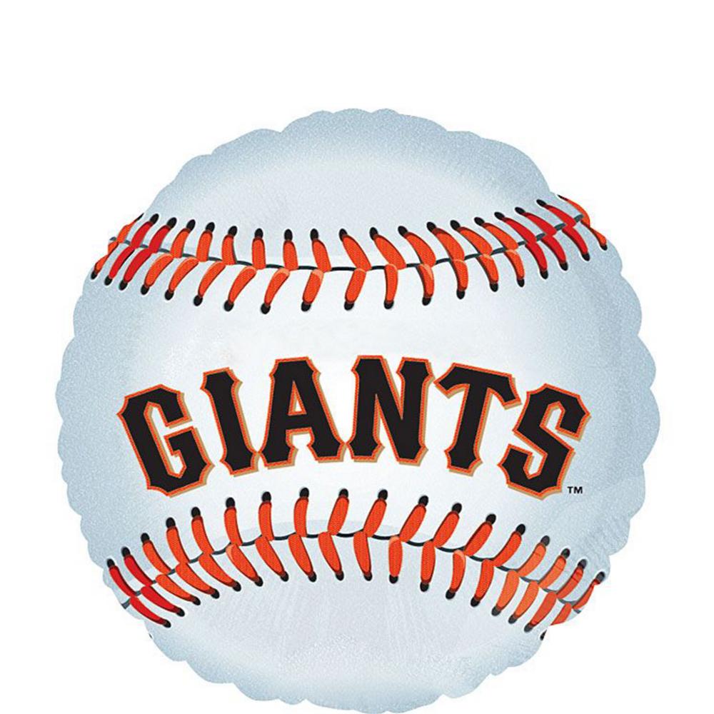 San Francisco Giants Balloon Kit Image #2