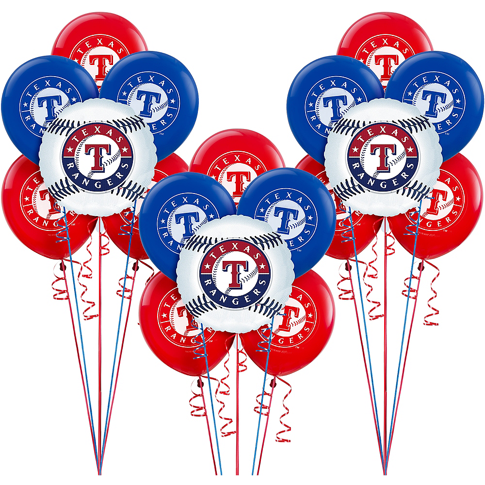 Texas Rangers Balloon Kit Image #1