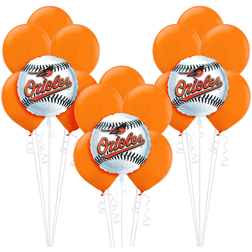 Baltimore Orioles Balloon Kit Image #1