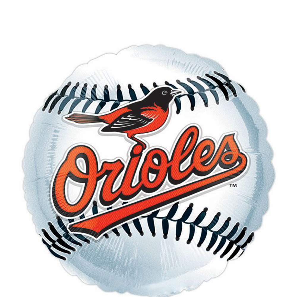 Baltimore Orioles Balloon Kit Image #3