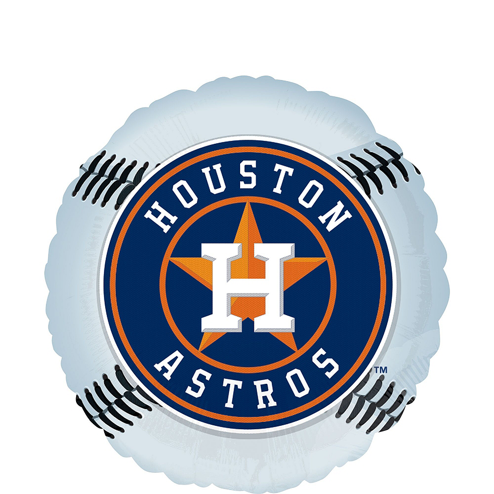 Houston Astros Balloon Kit Image #3