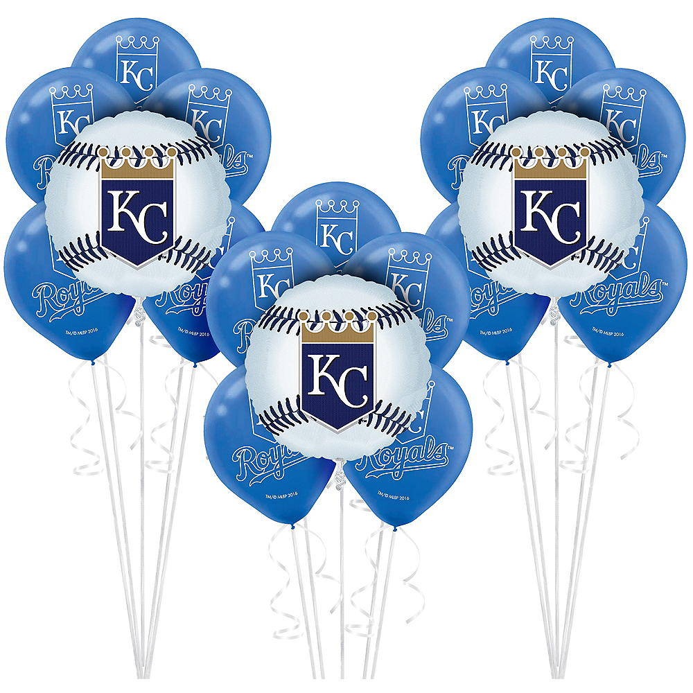 Kansas City Royals Balloon Kit Image #1
