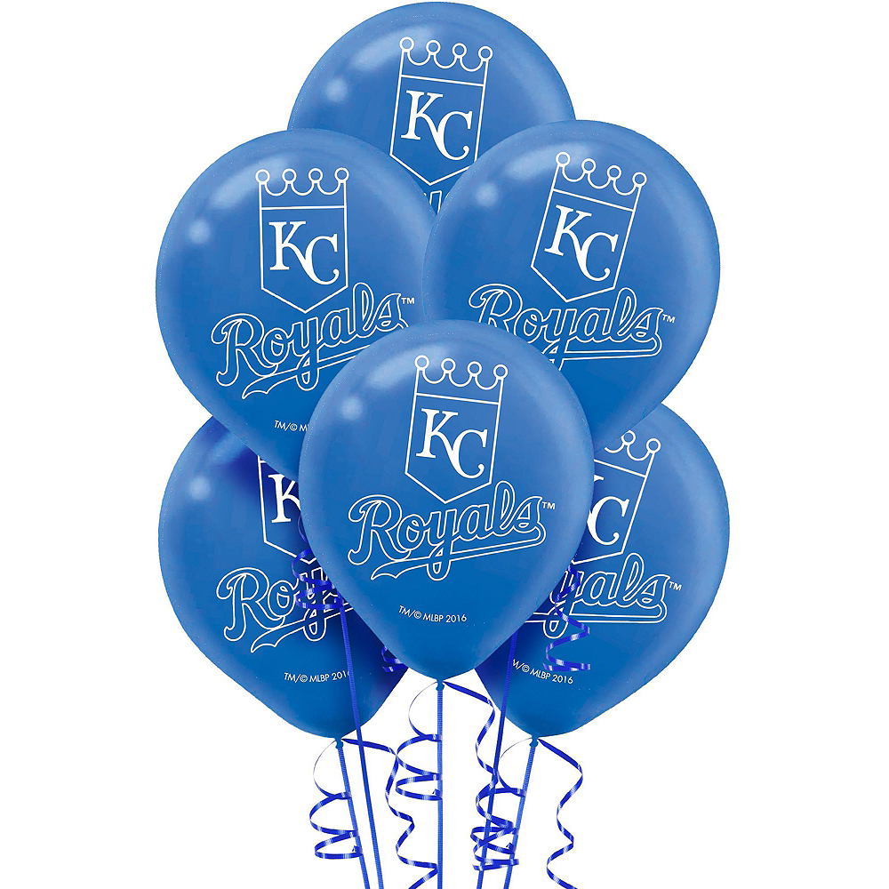 Kansas City Royals Balloon Kit Image #3