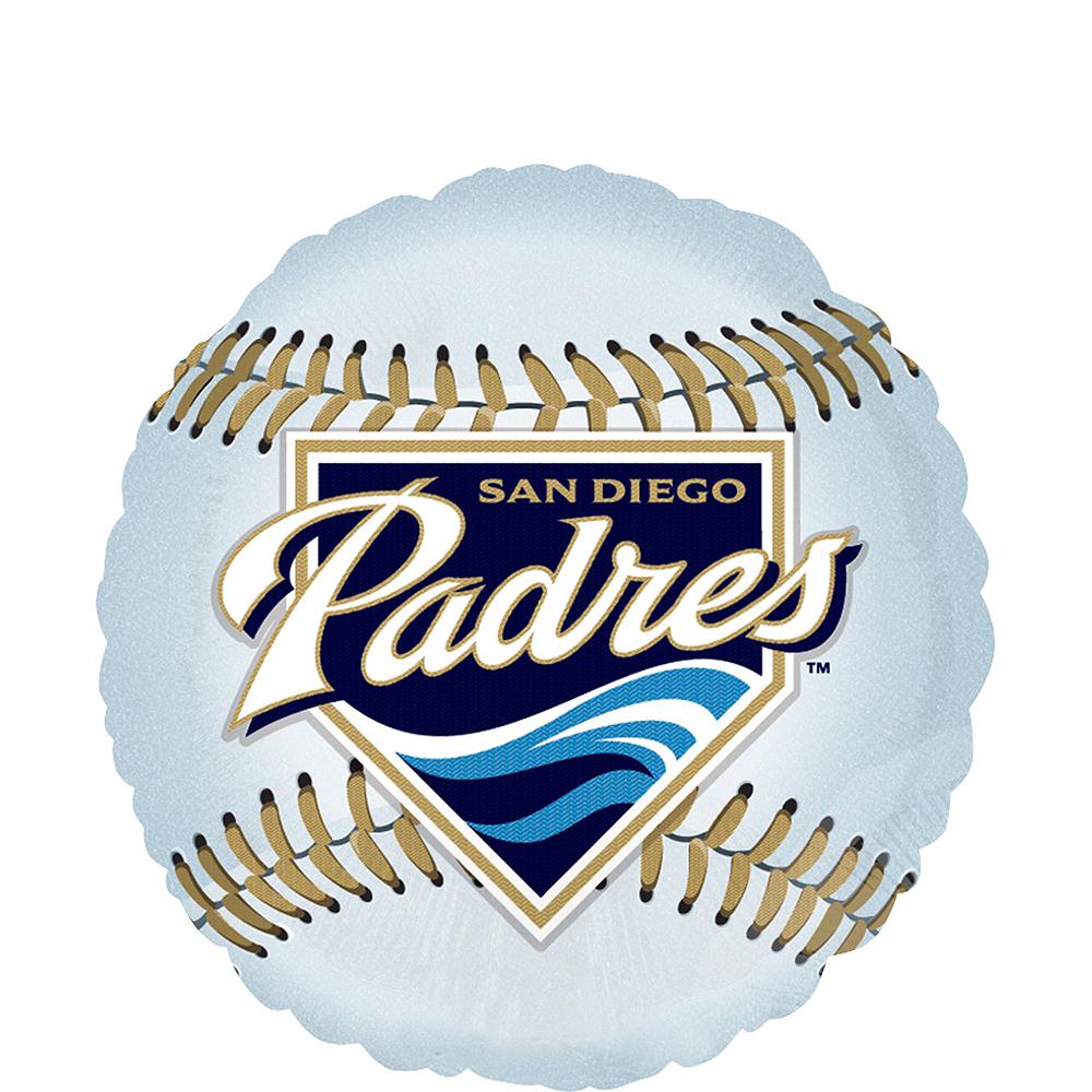 San Diego Padres Balloon Kit Image #2