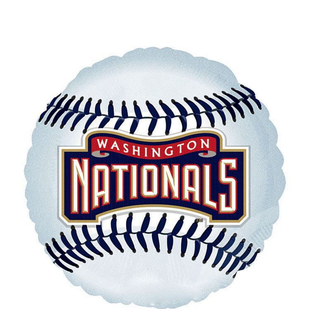 Washington Nationals Balloon Kit Image #3