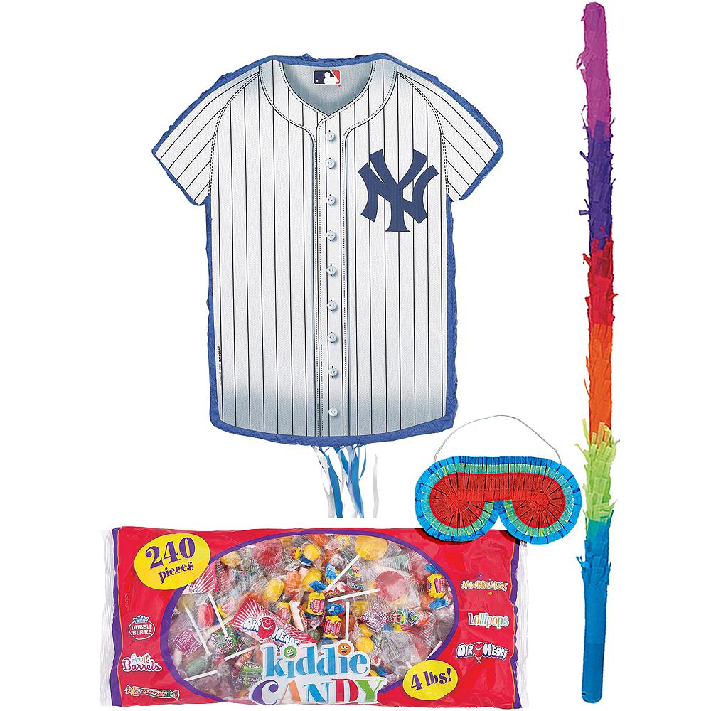 Pull String New York Yankees Pinata Kit 18in X 19 3 4in