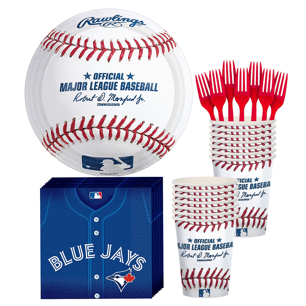 Toronto Blue Jays Party Kit for 16 Guests Image #1