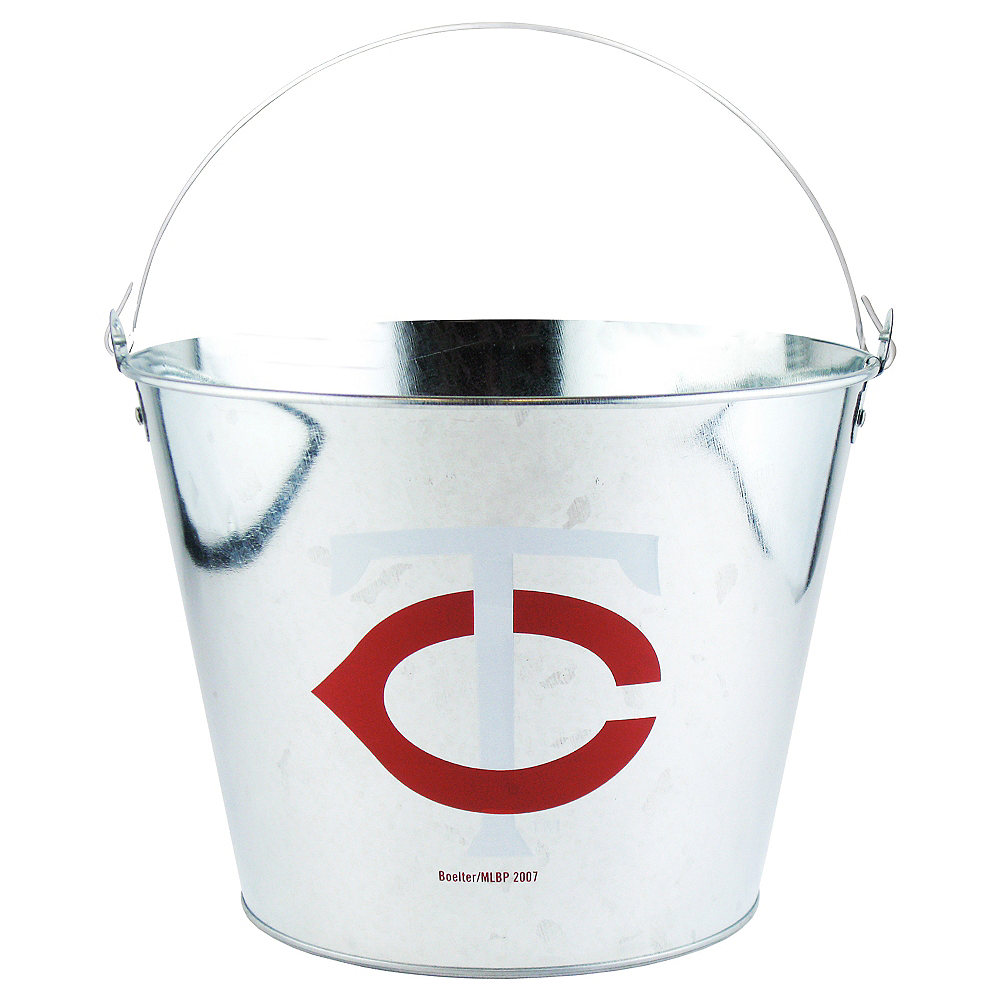 Minnesota Twins Galvanized Bucket Image #1