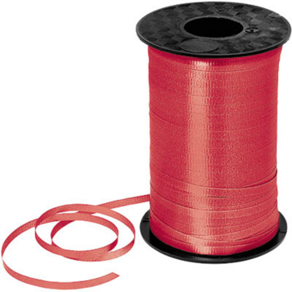 Red Curling Ribbon Image #1