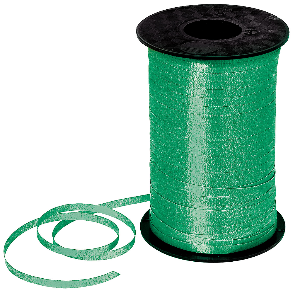 Green Curling Ribbon Image #1