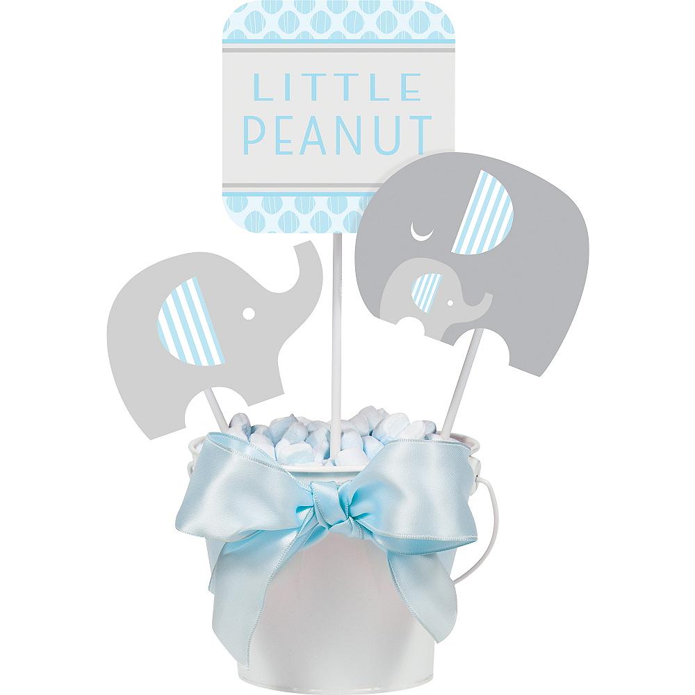 Blue Baby Elephant Centerpiece Sticks 3ct Image #1