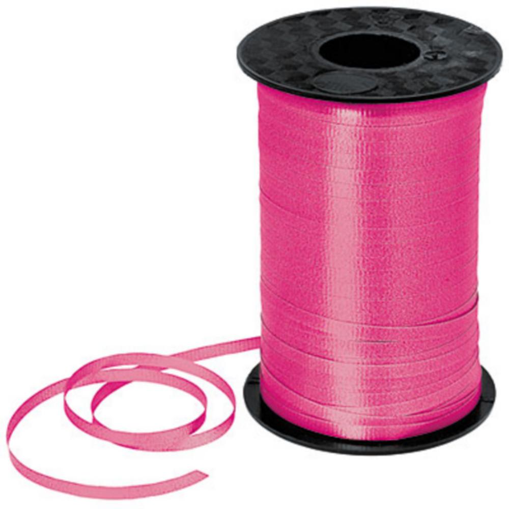 Magenta Curling Ribbon Image #1
