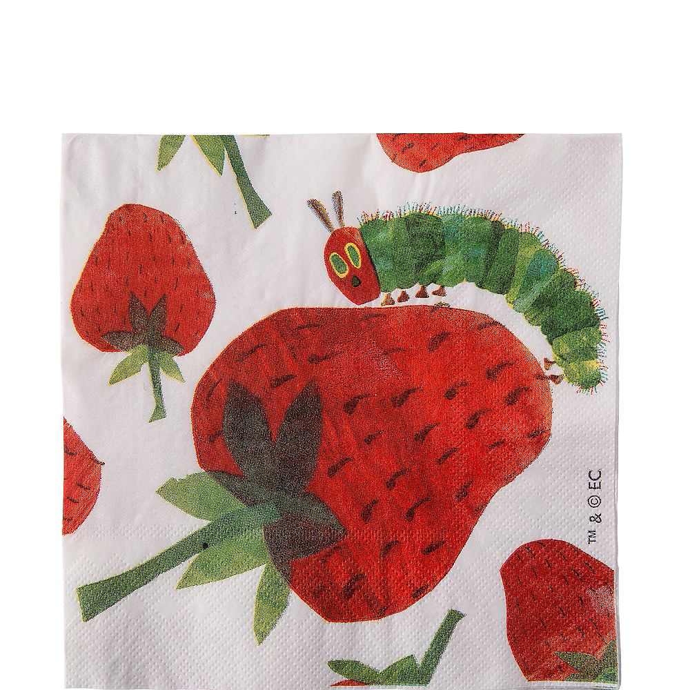 Nav Item for The Very Hungry Caterpillar Lunch Napkins 20ct Image #1